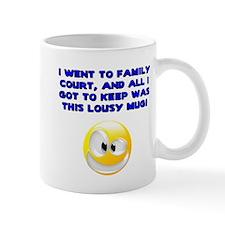 Lousy Court Blue Mug