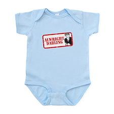 ALRIGHT DARLING Infant Bodysuit
