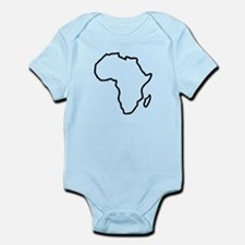 Africa map Infant Bodysuit
