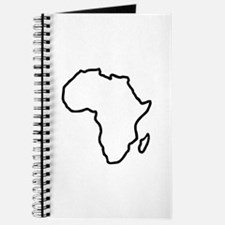Africa map Journal