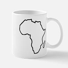 Africa map Mug
