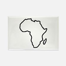 Africa map Rectangle Magnet (100 pack)