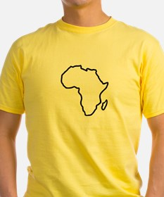 Africa map T