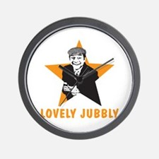 LOVELY JUBBLY Wall Clock