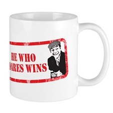 HE WHO DARES WINS Mug