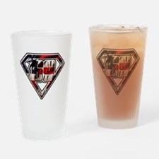 NHSMflag Drinking Glass