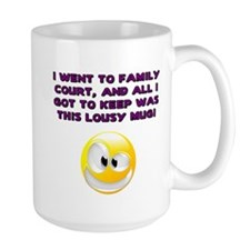 Lousy Court Purple Mug