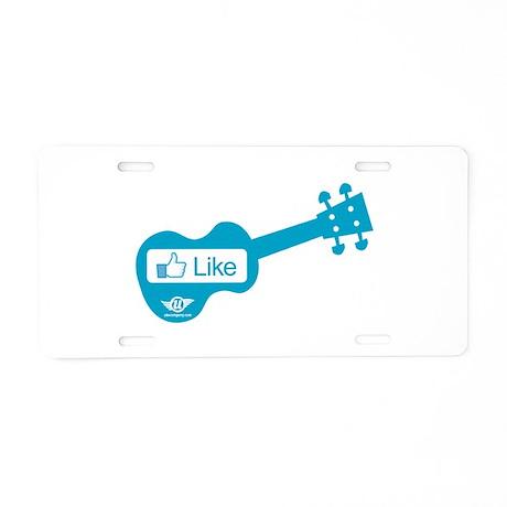 Like Uke Aluminum License Plate