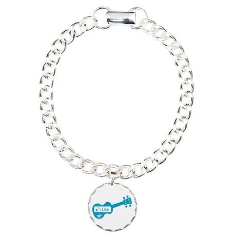Like Uke Charm Bracelet, One Charm