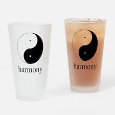 Dao of Harmony Drinking Glass
