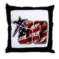 NHflagStar Throw Pillow