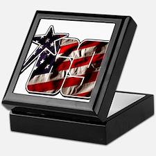 NHflagStar Keepsake Box