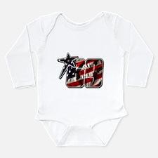 NHflagStar Long Sleeve Infant Bodysuit