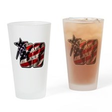 NHflagStar Drinking Glass