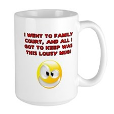 Lousy Court Red Mug