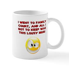 Lousy Court Red Mug