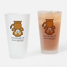 Happy Monkey - Full of Shit Drinking Glass