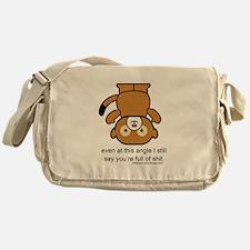 Happy Monkey - Full of Shit Messenger Bag