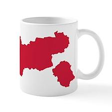 Tyrol map Austria Mug