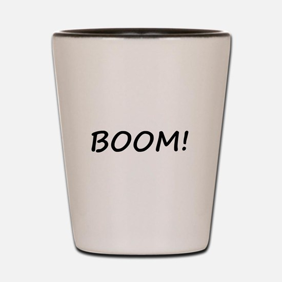 BOOM! Shot Glass