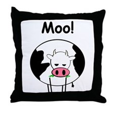 Cute Cow milk Throw Pillow