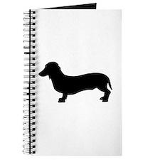 Dog dachshund Journal