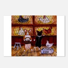All Cooped Up Postcards (Package of 8)