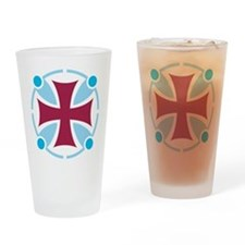 Templar Cross Drinking Glass