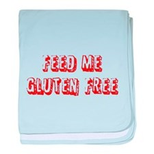 Feed me Gluten Free baby blanket