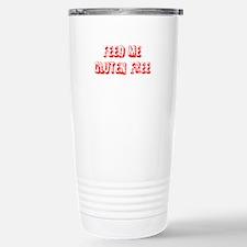Feed me Gluten Free Stainless Steel Travel Mug