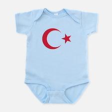 Islam crescent star Infant Bodysuit