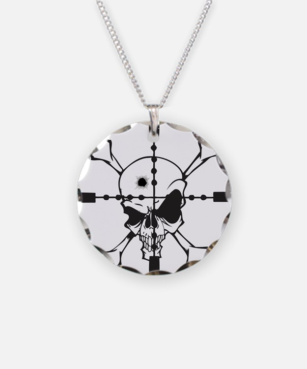Crosshairs Necklace