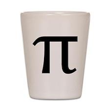 Math Geek Nerd Pi Shot Glass