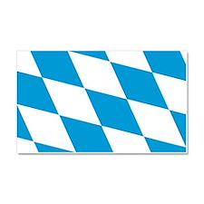 Flag of Bavaria Car Magnet 20 x 12