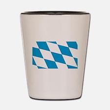 Flag of Bavaria Shot Glass