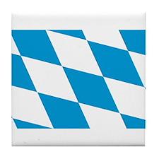 Flag of Bavaria Tile Coaster