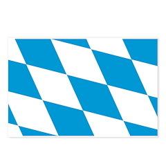 Flag of Bavaria Postcards (Package of 8)
