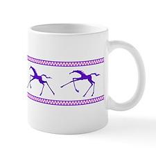 galloping leggy horse Mug