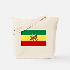 Lion of Judah Ethopian Flag Tote Bag