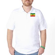 Lion of Judah Ethopian Flag T-Shirt