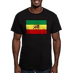 Lion of Judah Ethopian Flag Men's Fitted T-Shirt (