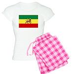 Lion of Judah Ethopian Flag Women's Light Pajamas