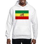 Lion of Judah Ethopian Flag Hooded Sweatshirt