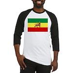 Lion of Judah Ethopian Flag Baseball Jersey