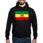 Lion of Judah Ethopian Flag Hoodie (dark)