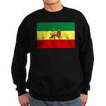 Lion of Judah Ethopian Flag Sweatshirt (dark)