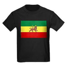 Lion of Judah Ethopian Flag T