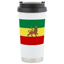 Lion of Judah Ethopian Flag Travel Mug
