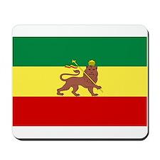 Lion of Judah Ethopian Flag Mousepad