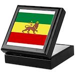 Lion of Judah Ethopian Flag Keepsake Box